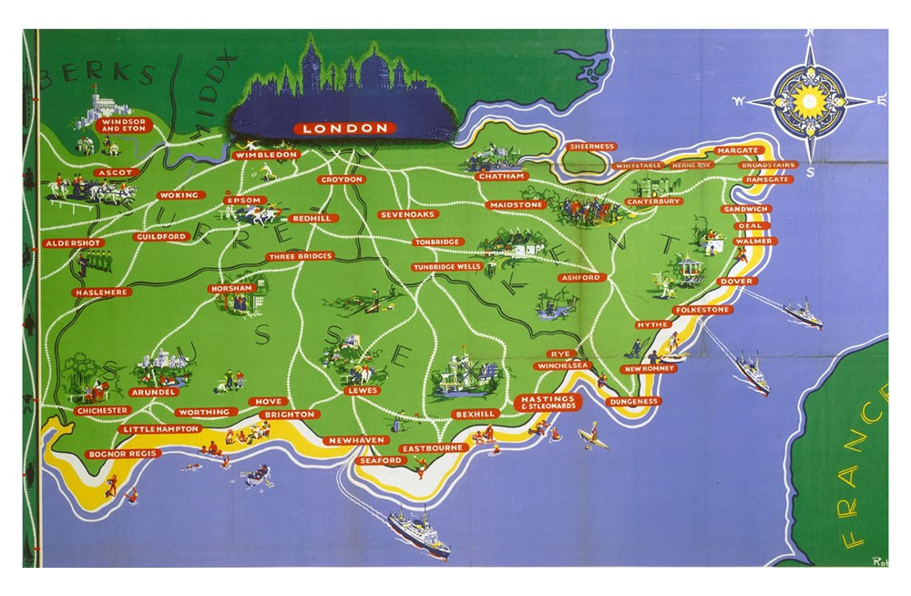 S E England Map.Se England Map Greenleaf Projects Uk Ltd
